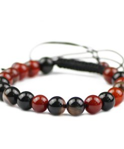 Bracelet Boule Cornaline