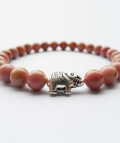 Bracelet Rhodonite Quartz