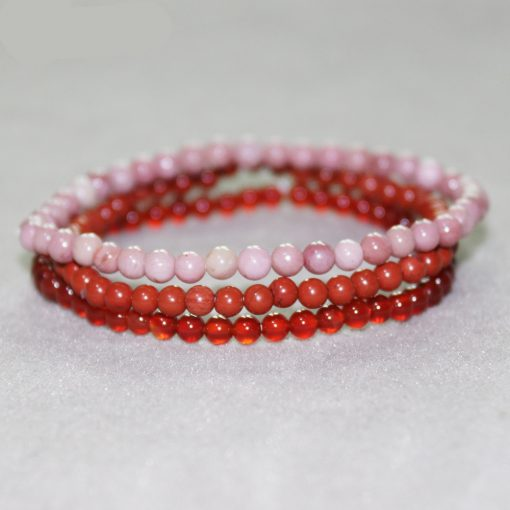 Bracelet Rhodonite Rouge