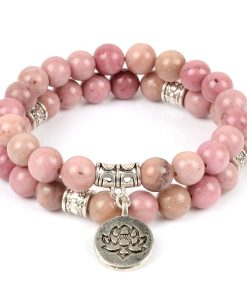 Pierre Rose Rhodonite Bracelet