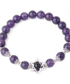 Rhodonite Violette Bracelet