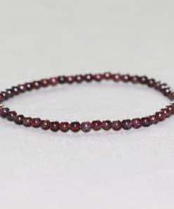 Bracelet Perle Grenat