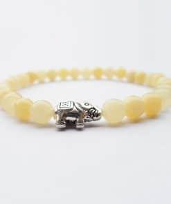 jaspe jaune bracelet