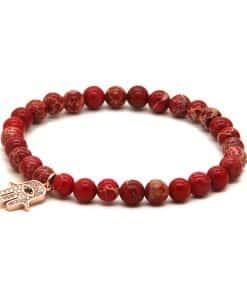 Bracelet De Jaspe Rouge
