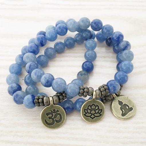 Aventurine Bleue Bracelet