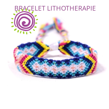 Bracelet Brésilien Croix Et Losange