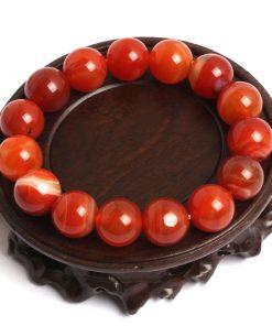 Bracelet Cornaline Rouge