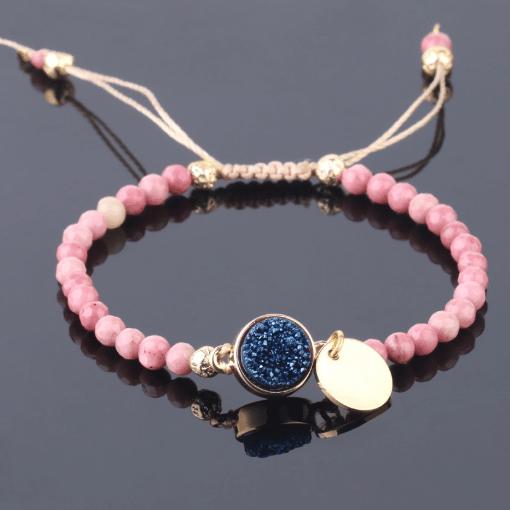 Bracelet Mala Rhodonite