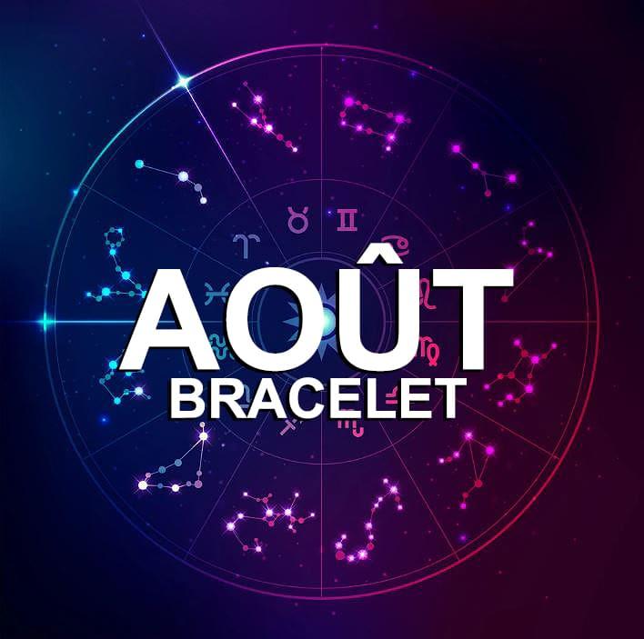 Bracelet Pour Le Signe Du Zodiaque Août