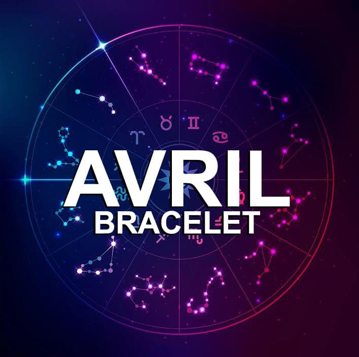 Bracelet Pour Le Signe Du Zodiaque Avril