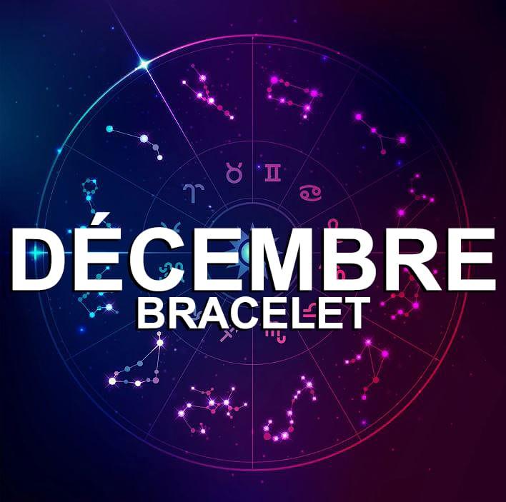 Bracelet Pour Le Signe Du Zodiaque Décembre