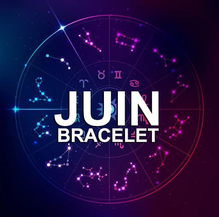 Bracelet Pour Le Signe Du Zodiaque Juin