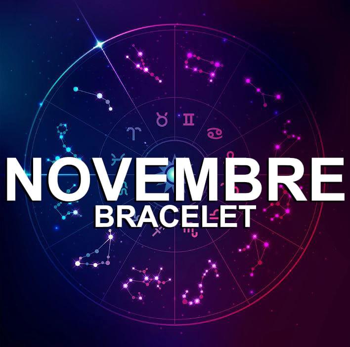 Bracelet Pour Le Signe Du Zodiaque Novembre