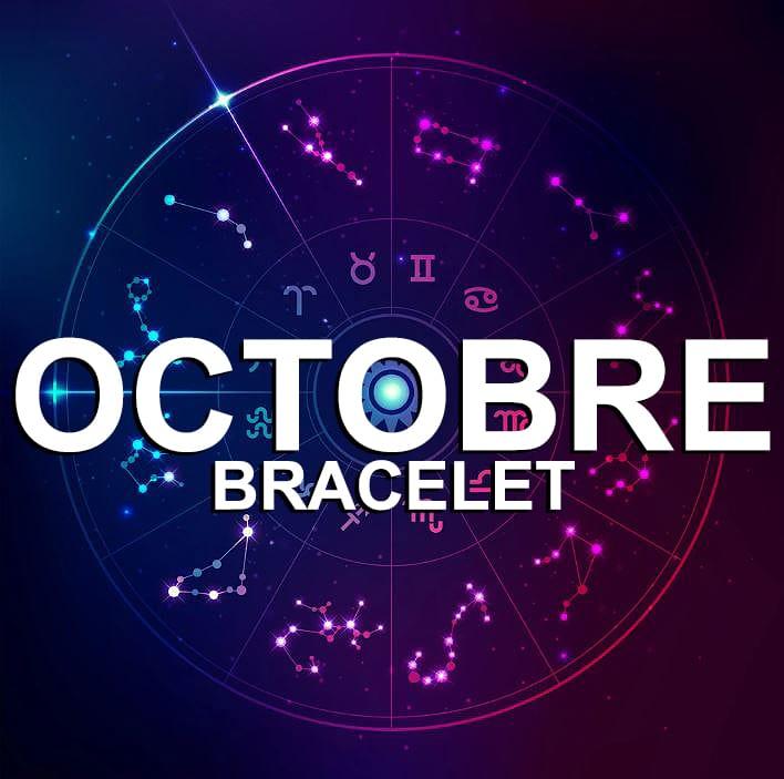 Bracelet Pour Le Signe Du Zodiaque Octobre