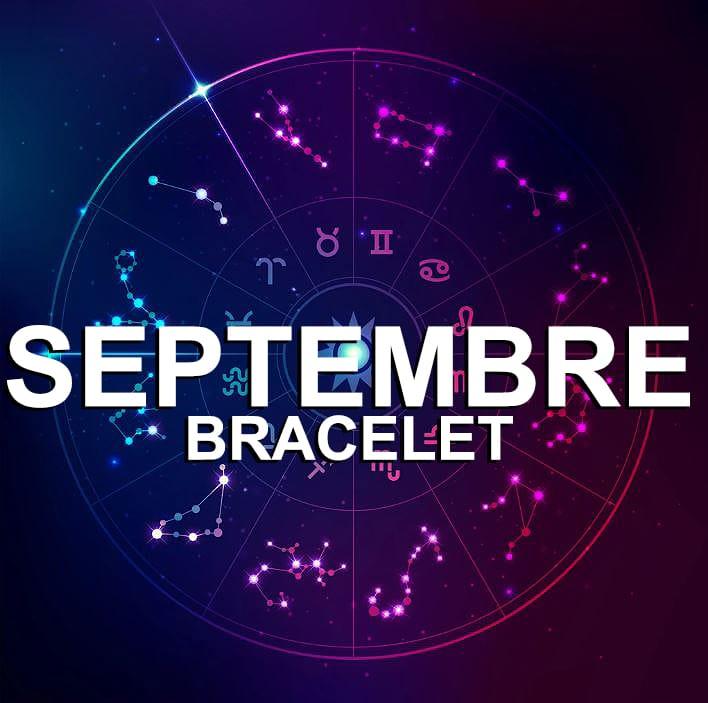 Bracelet Pour Le Signe Du Zodiaque Septembre