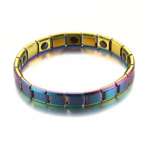 Bracelets Aimantés Magnétiques Bracelet Amincissant & Énergétique