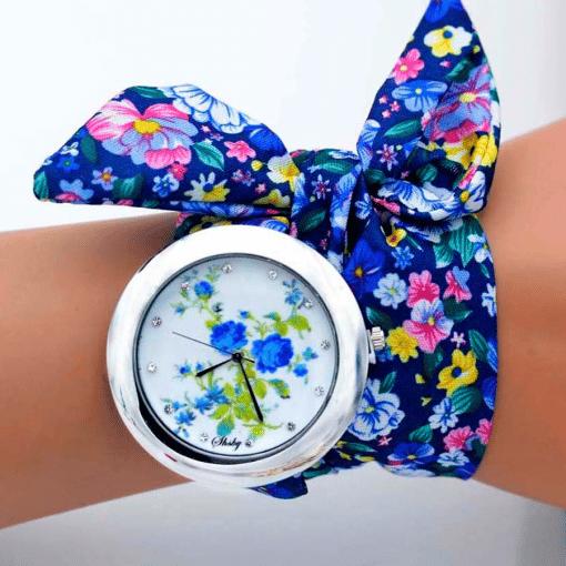 Montre Avec Bracelet Tissu