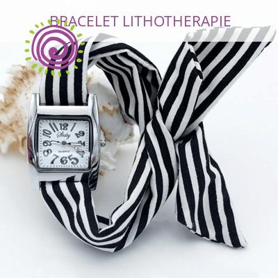Montre Bracelet Tissu A Nouer