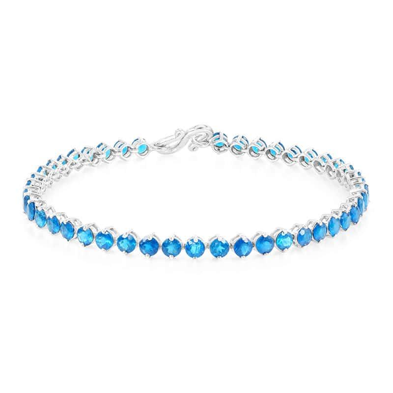 bracelet Scapolite bleue