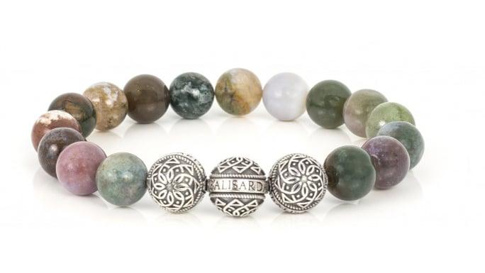 bracelet agate de mousse
