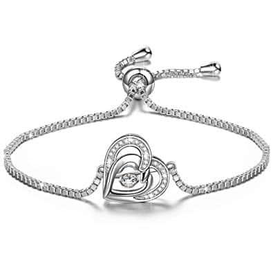 bracelet argent 925 en diamant