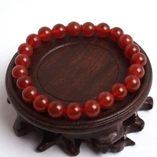 Bracelet Cornaline 8 mm