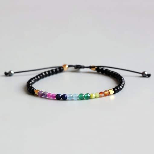 bracelet de cheville shamballa