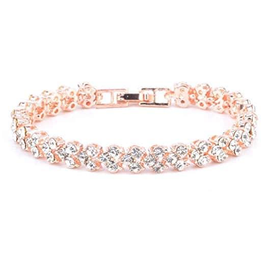 bracelet diamant en argent 925