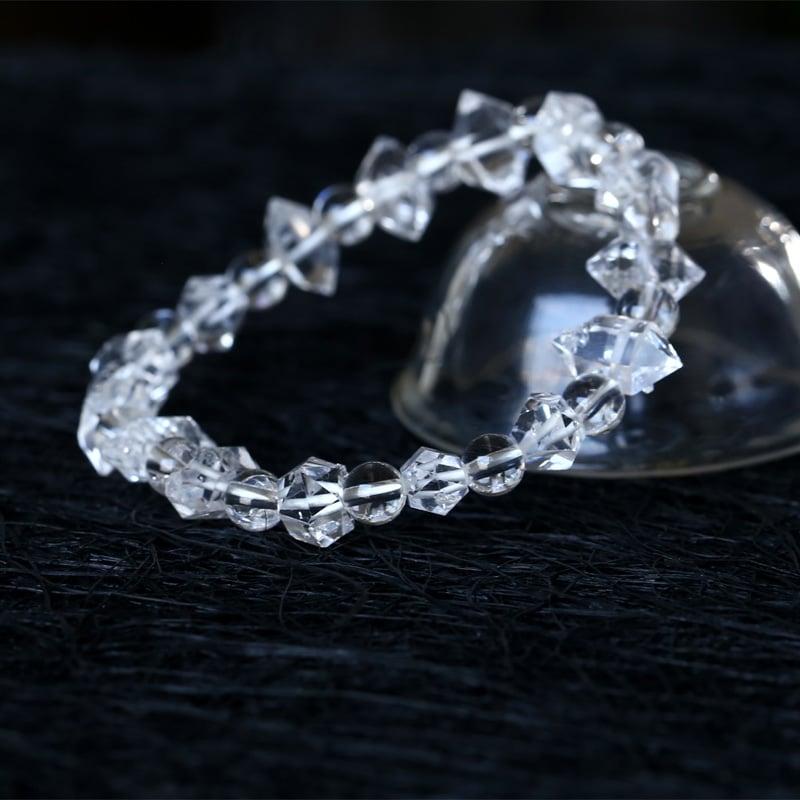 bracelet diamant herkimer