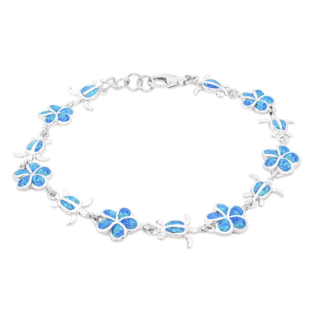bracelet opale argent 925