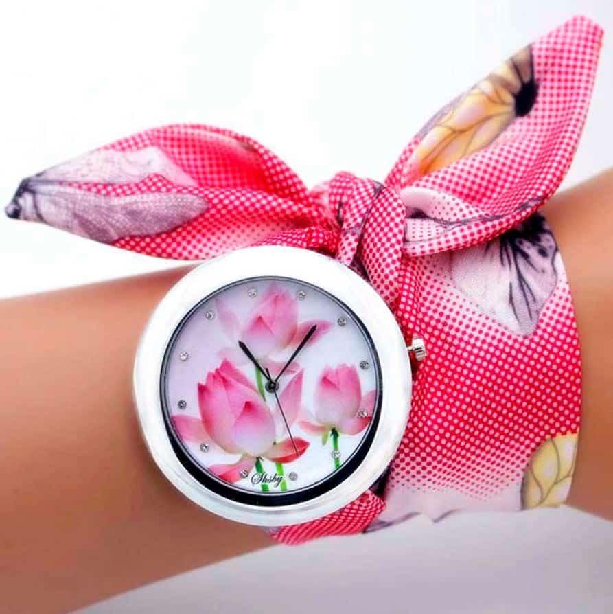 bracelet tissu montre