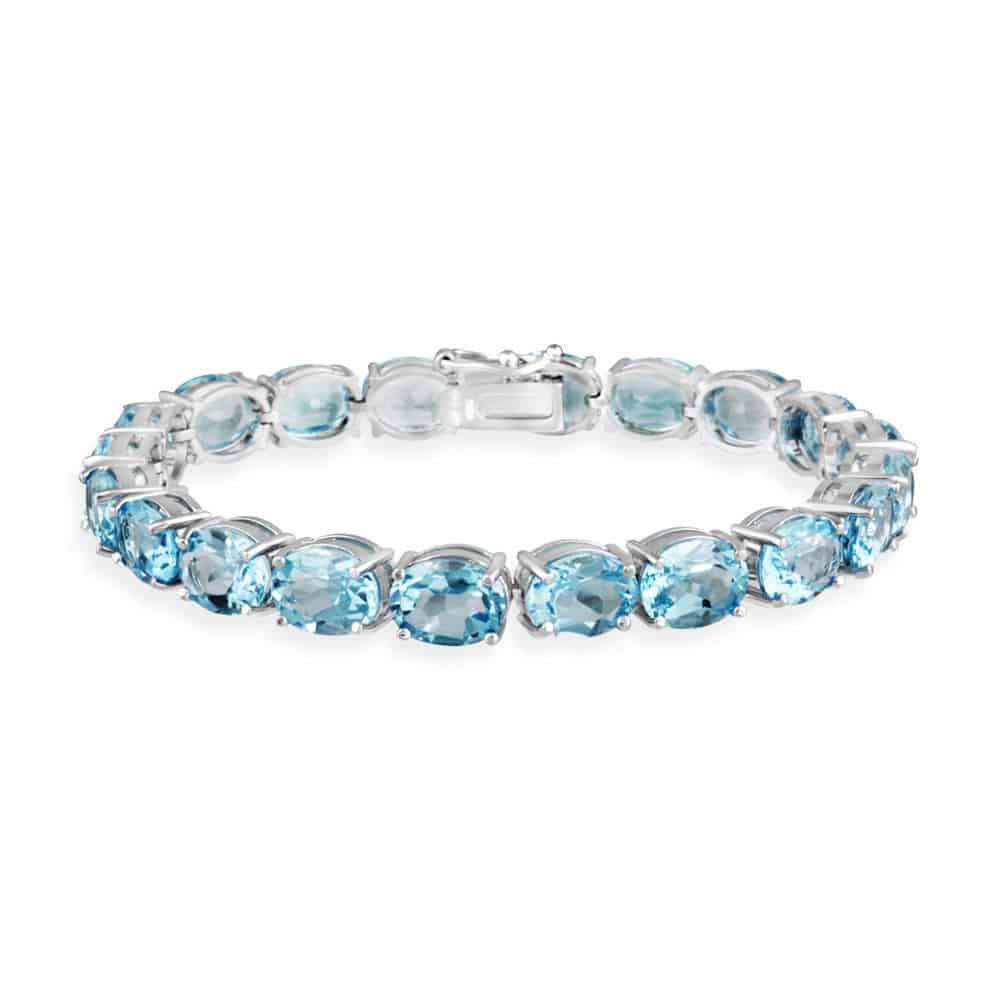bracelet topaz