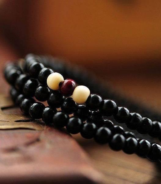 bracelet cristaux de bois