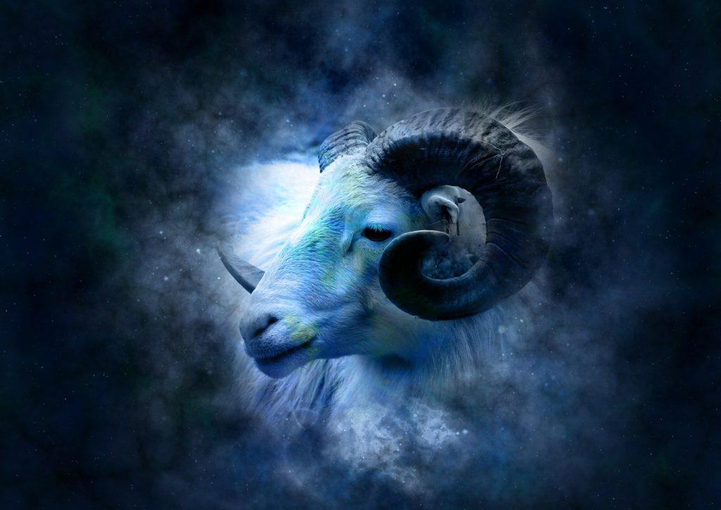 le signe du zodiaque de mars