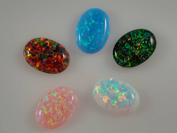 les pierres d'opale