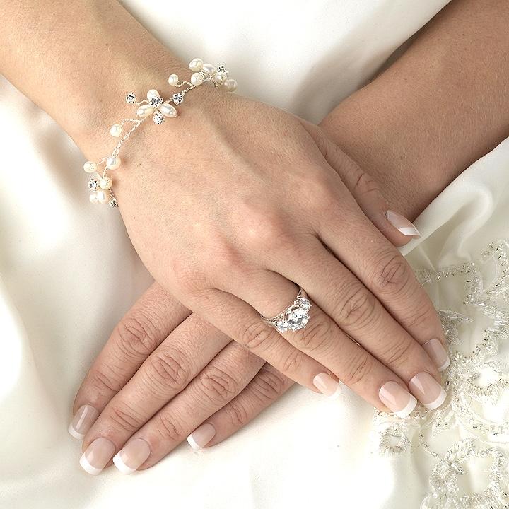 mariage bracelet perle