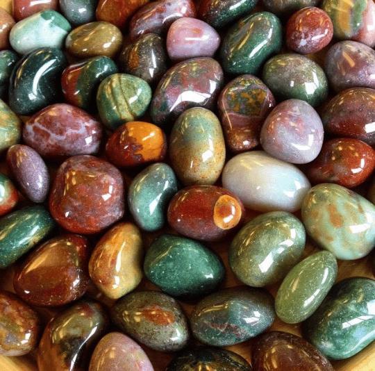 pierres de jaspe