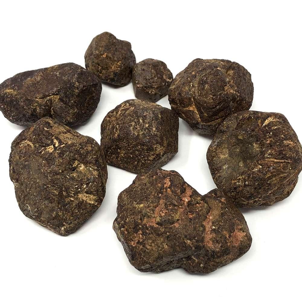 pierres grenat naturelles