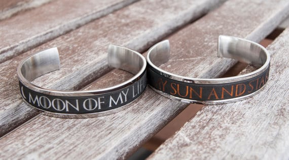 Bracelet Etoiles et Soleil Lune Style Game Of Thrones Style Lune Of Life
