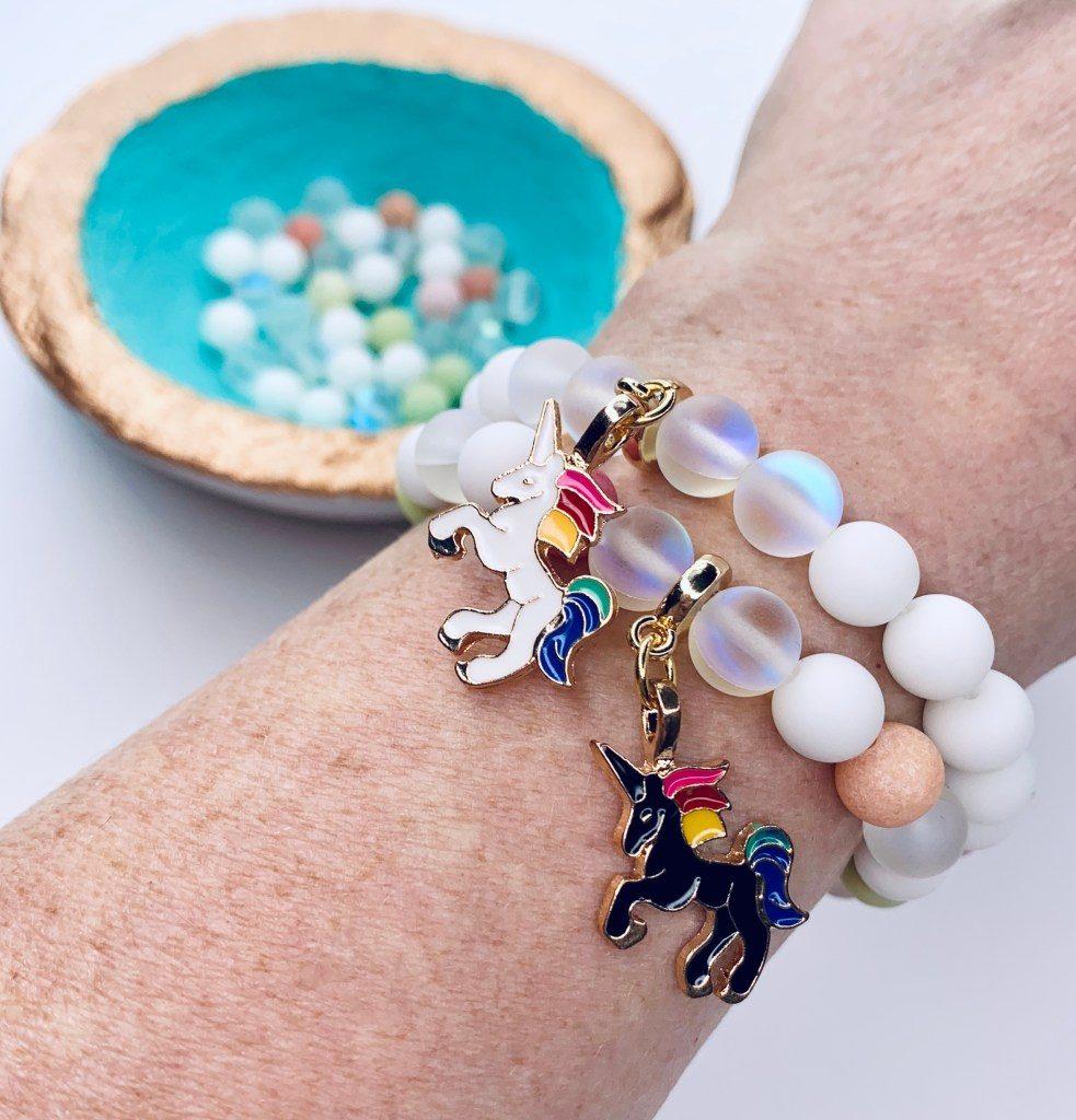 bracelet licorne en argent