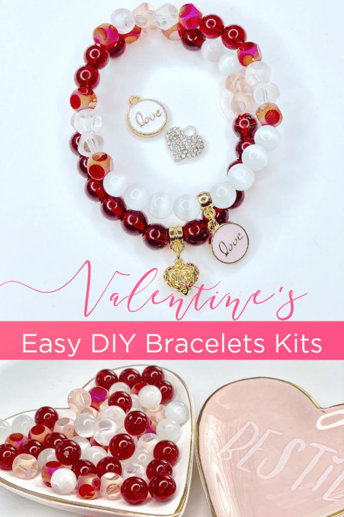 bracelet perle pour la saint valentin
