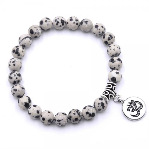 Bracelet Perle Dalmatien