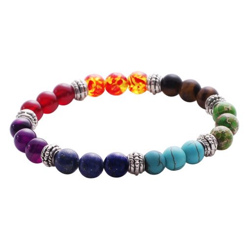 Bracelet Perle Triple Chakras
