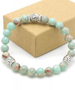 Bracelet Perle Vert Clair